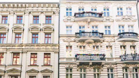 Altbauten in der Stadt