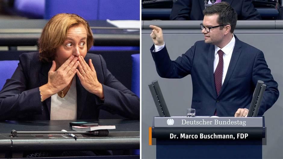 """Eklat im Bundestag: Beatrix von Storch bezeichnet FDP-Politiker als """"Terroristen"""" – und kassiert Ordnungsruf"""