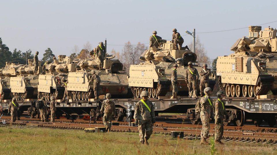 Panzer der US-Armee (Archivbild)
