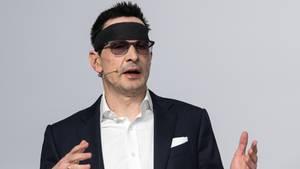 Innogy-Manager Bernhard Günther ein Jahr nach dem Säureanschlag