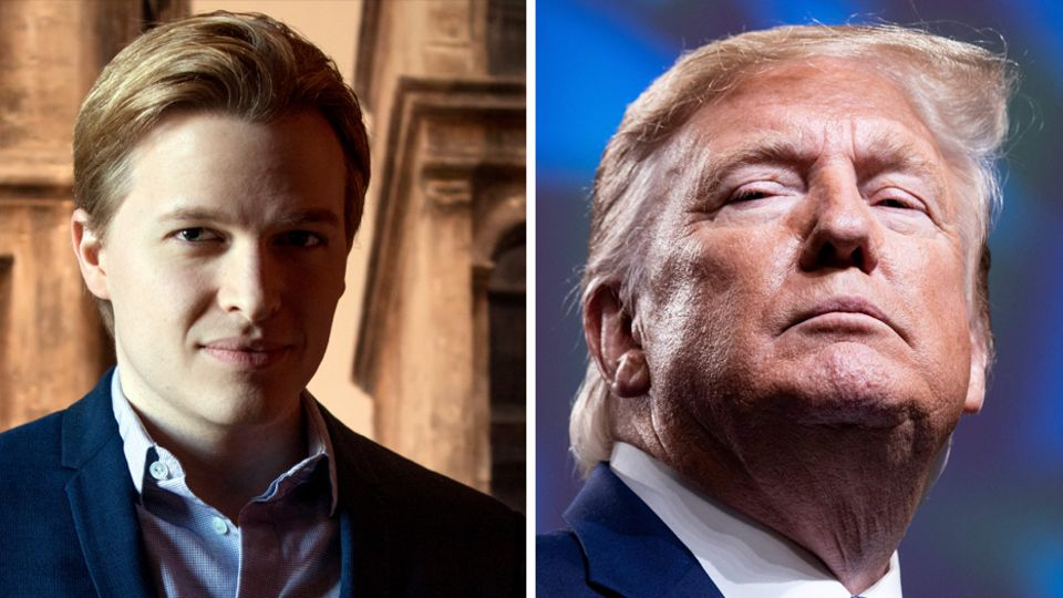 Ronan Farrow und Donald Trump