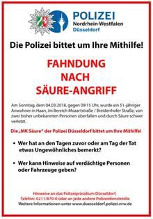 Polizeiplakat