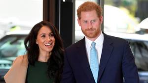 Prinz Harry und Herzogin Meghan im Royal Lancaster Hotel