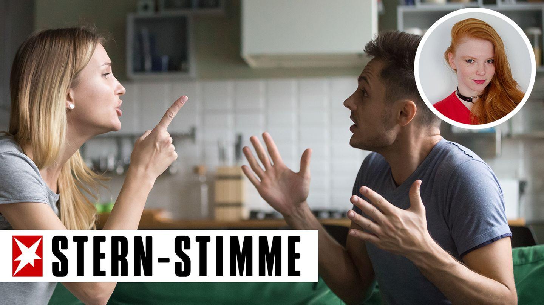 PMS sorgt in vielen Beziehungen für Streit. Dabei sollten sich die Frauen dafür nicht schämen (Symbolbild)