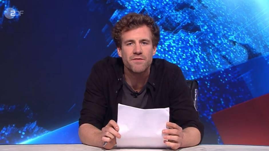 """Luke Mockridge in der """"heute-show"""""""