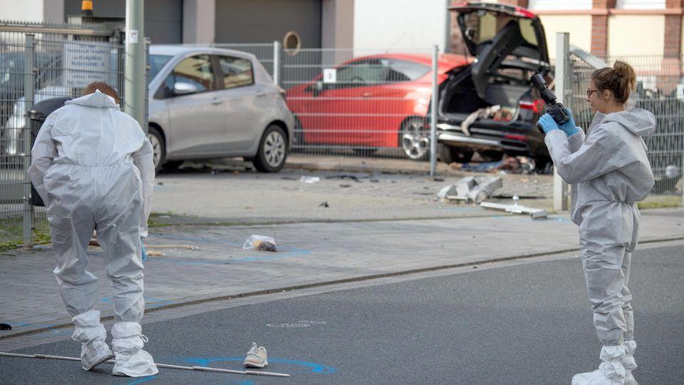 Beziehungstat in Limburg: Ehefrau angefahren und erschlagen