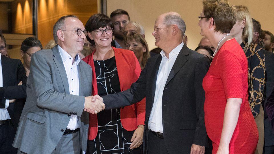 SPD - Parteivorsitz - Mitgliederentscheid