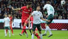Bundesliga - Bayer leverkusen gegen Werder Bremen