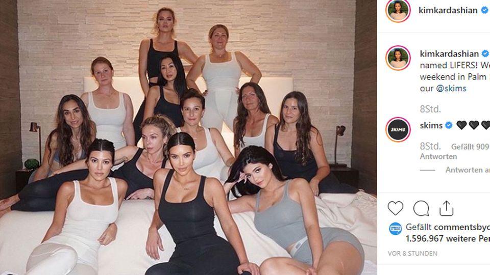 Kim Kardashian feiert ihren 39. Geburtstag