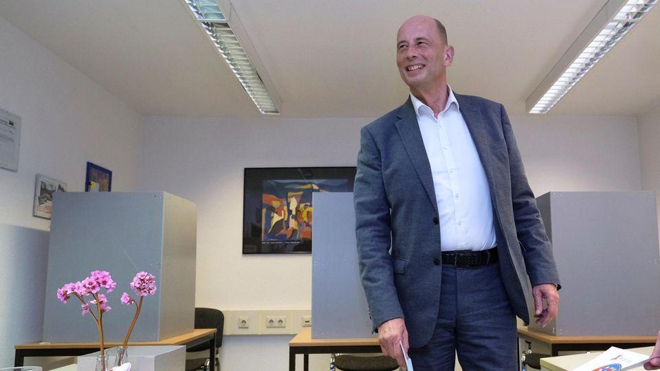 Das Zugpferd der Thüringer SPD: Wolfgang Tiefensee