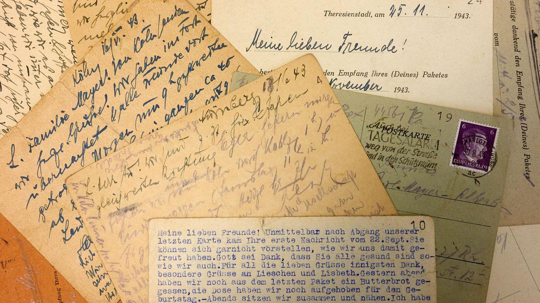 Postkarten im Koblenzer Stadtarchiv dokumentieren die Sorgen einer Familie um ihre Kinder