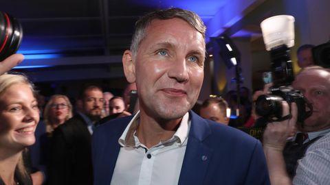 Landtagswahl in Thüringen: Björn Höcke (AfD)