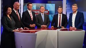 Spitzenkandidaten der Landtagswahl in Thüringen