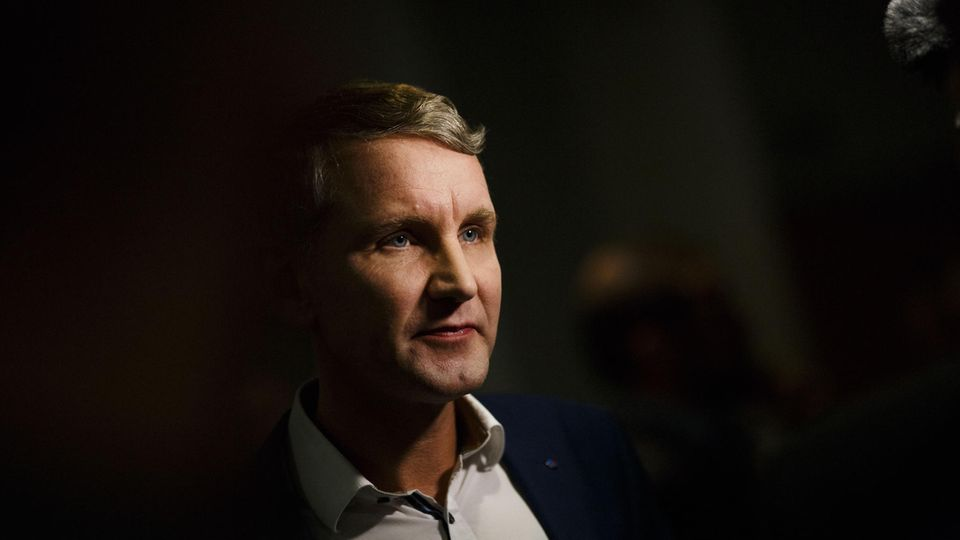 Landtagswahl Thüringen - AfD - Björn Höcke