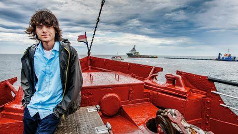 Boyan Slat, Erfinder der riesigen Meeres-Staubsauger, will jetzt auch Flüsse vom Müll befreien
