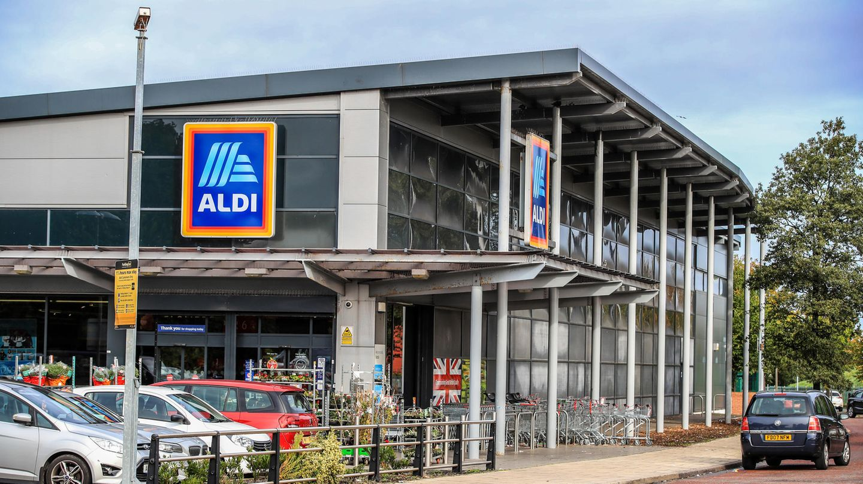 Aldi-Filiale in Großbritannien