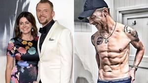 Für eine Filmrolle musste Schauspieler Simon Pegg ordentlich abnehmen - seine Frau war nicht begeistert