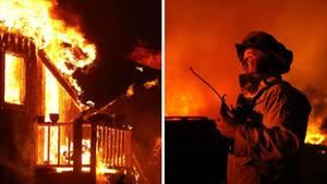 Waldbrände in Kalifornien:Tausende Hektar Land sollen den Flammen bereits zum Opfer gefallen sein.