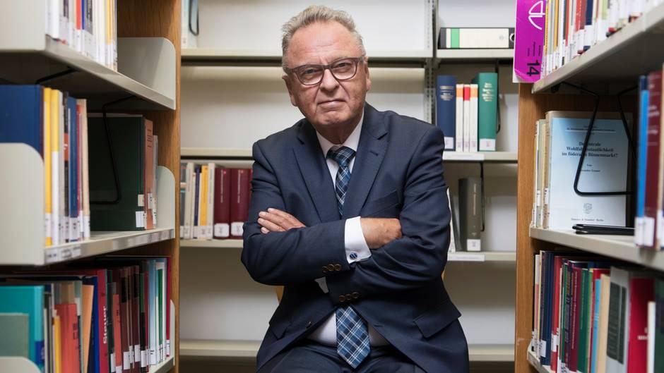 Ex-Verfassungsrichter Hans-Jürgen Papier warnt im stern vor Erosion des Rechtsstaats