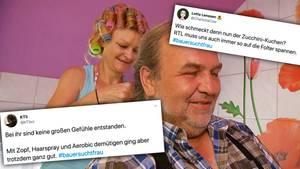 """Twitter-User diskutieren über die frühe Abreise von Anke bei """"Bauer sucht Frau""""."""