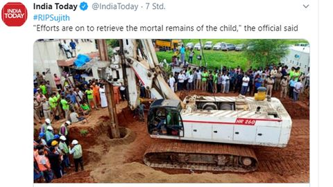 Die Rettungsaktion für den Zweijährigen in Indien