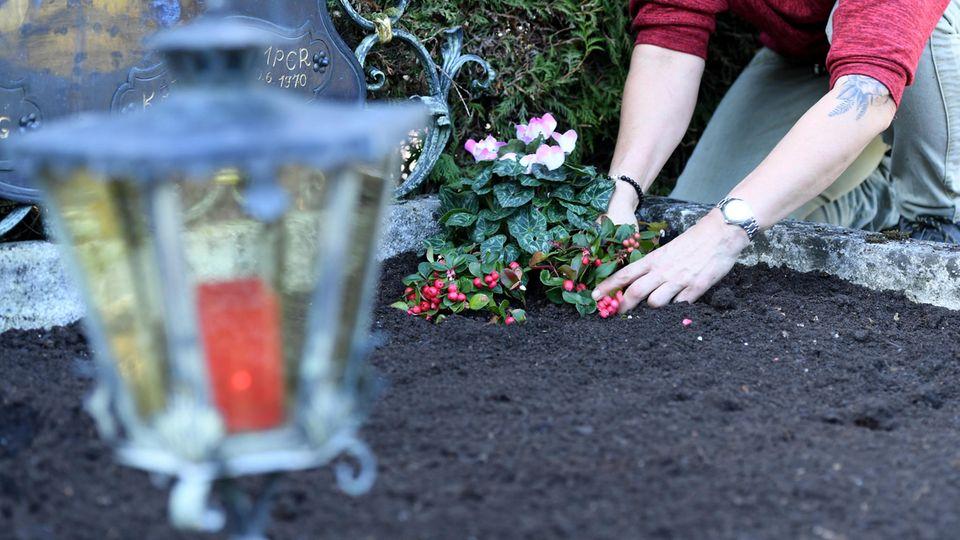 Der Friedhof ist in einer Krise