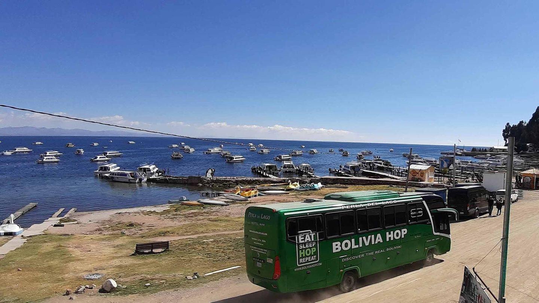 Bus in Bolivien