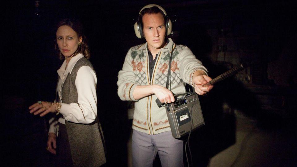 Vera Farmiga und Patrick Wilson als Ed und Lorraine Warren