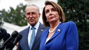 Die US-Demokraten werfen Donald Trump vor, sein Präsidentenamt missbraucht zu haben