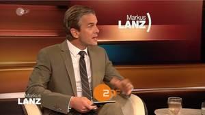 Panne bei Markus Lanz im ZDF