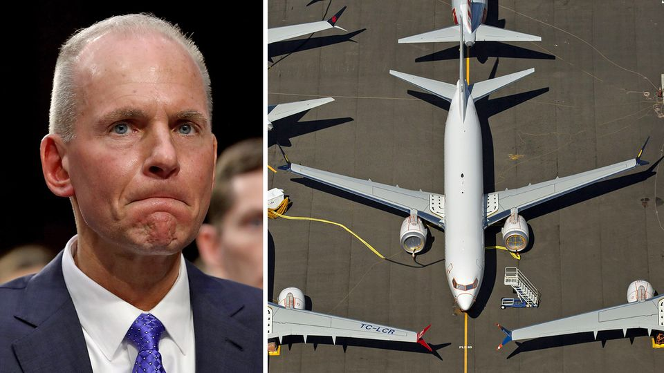 Dennis Muilenberg und Flugzeuge
