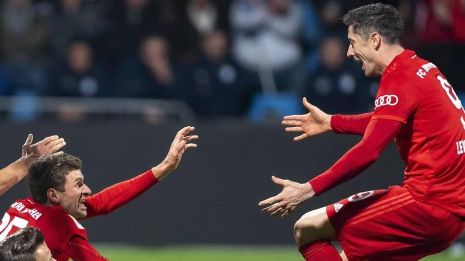 Bayern im Pokal:: Das sind die DFB-Pokal-Ergebnisse vom Dienstag