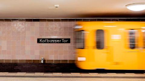 BerlinerU-Bahnstation Kottbusser Tor