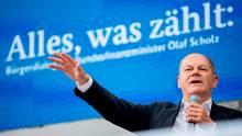 Finanzmister Olaf Scholz kann sich über höhere Steuereinnahmen freuen