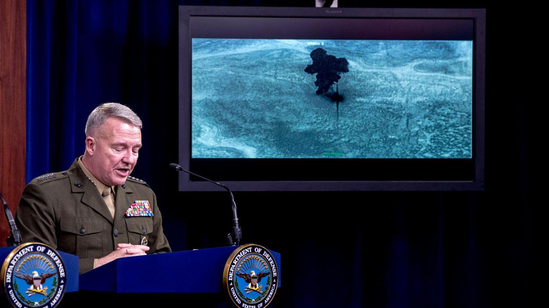 US-General Kenneth McKenzie gibtDetails zu dem Angriff auf IS-Führer Al-Bagdadi bekannt