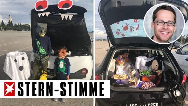 Halloween in Tunis
