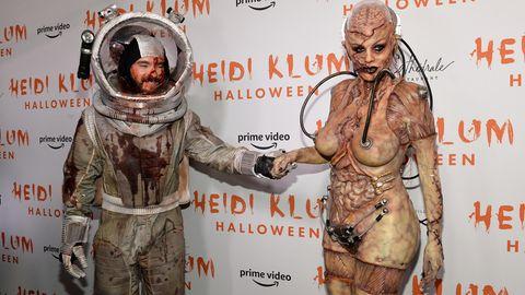 Tom Kaulitz und Heidi Klum feiern Halloween