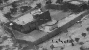 Standbild einer Aufnahme des US-Militärs zeigt die Operation, die zum Tod von IS-Führer Abu Bakr al-Bagdadi führte.