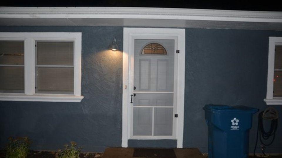 In diesem Haus in Oxfordim US-Bundesstaat Indiana wurde Laura H. offenbar von einem Python erdrosselt