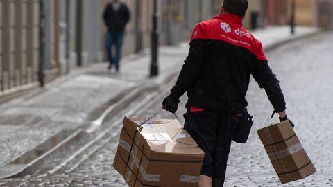 Paketdienste DPD Weihnachtszeit