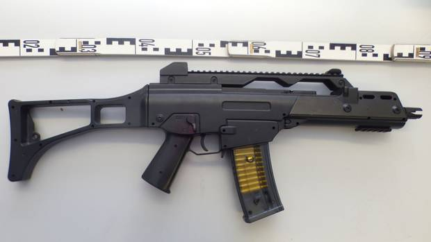 Nachbildung eines Gewehr