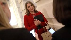 Die scheidende US-Demokratin Katie Hill