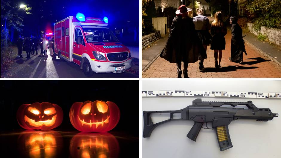 Halloween-Szenen