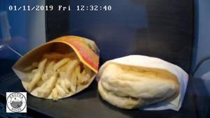 McDonald's Menü