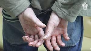 Russland, Narjan-Mar: Dennis P. wird dem Haftrichter vorgeführt.