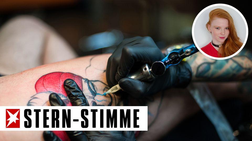 Ein Tattoo wird heute akzeptiert - aber nicht im Gesicht