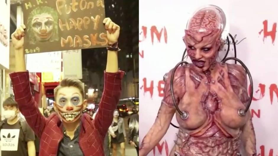 Zwischen Protest und Glamour: Von Hongkong bis Hollywood: So feiert die Welt Halloween