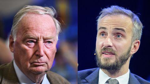 "AfD: ""FAZ""-Party mit Deutschlands Oberrechten - Böhmermann greift Zeitung an"