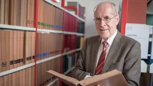 Der Kriminologe Christian Pfeiffer war einst Justizminister Niedersachsens