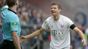 FCB-Profi Thomas Müller wusste auch nicht, wie ihm und seinem Team geschiet